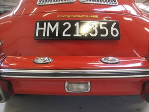 1965 Porsche 356 C Karmann Coupe – one of 1101 produced For Sale (picture 15 of 50)