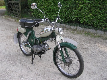 Picture of 1973 Puch daimler ms49cc 3 speed manual vintage moped For Sale