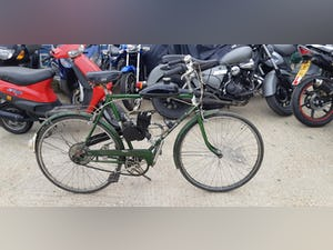 1970's Puch touring bicycle with 2 stroke engine fitted £395 For Sale (picture 1 of 3)