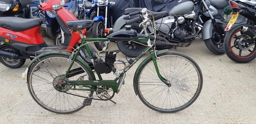 Picture of 1970's Puch touring bicycle with 2 stroke engine fitted £395 For Sale