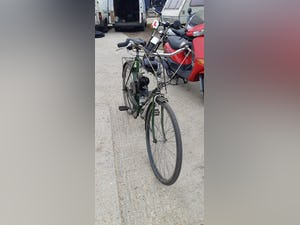 1970's Puch touring bicycle with 2 stroke engine fitted £395 For Sale (picture 2 of 3)
