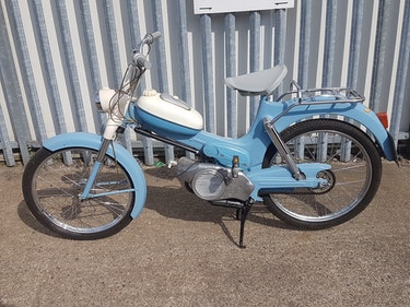 Picture of Puch MS50 Moped Manufactured 1960 3 Speed Twist Grip Change For Sale