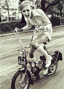 Picture of 1968 Rayleigh Wisp 50cc Restored-Very Rare 60's Moped. SOLD SOLD