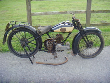 Picture of Raleigh Model 15 Deluxe 1928 For Sale