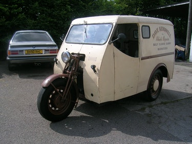 Picture of 1950 Reliant Girder Fork Three Wheeler Van For Sale