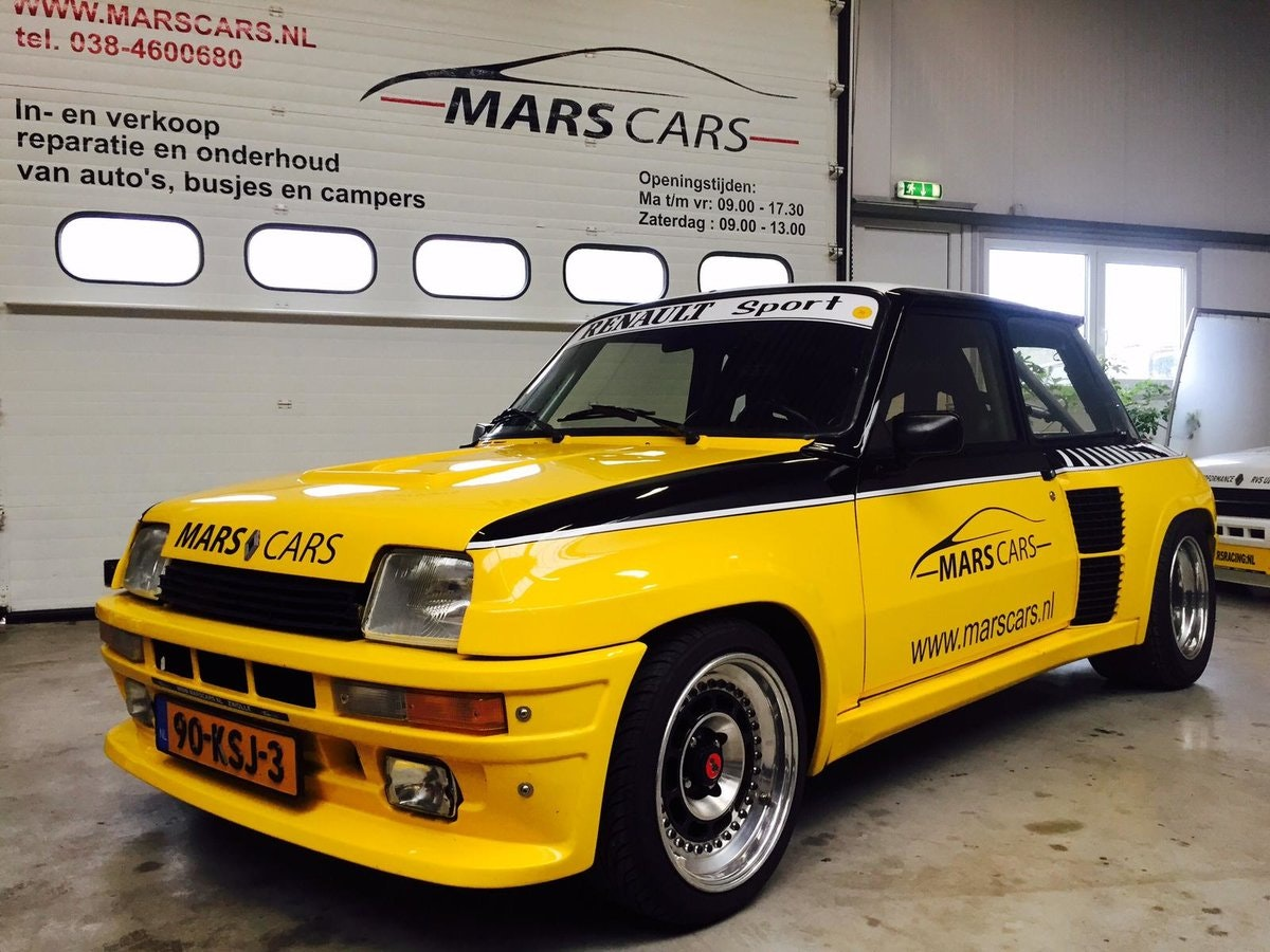 1983 Restored Renault 5 Turbo 2 For Sale (picture 1 of 6)