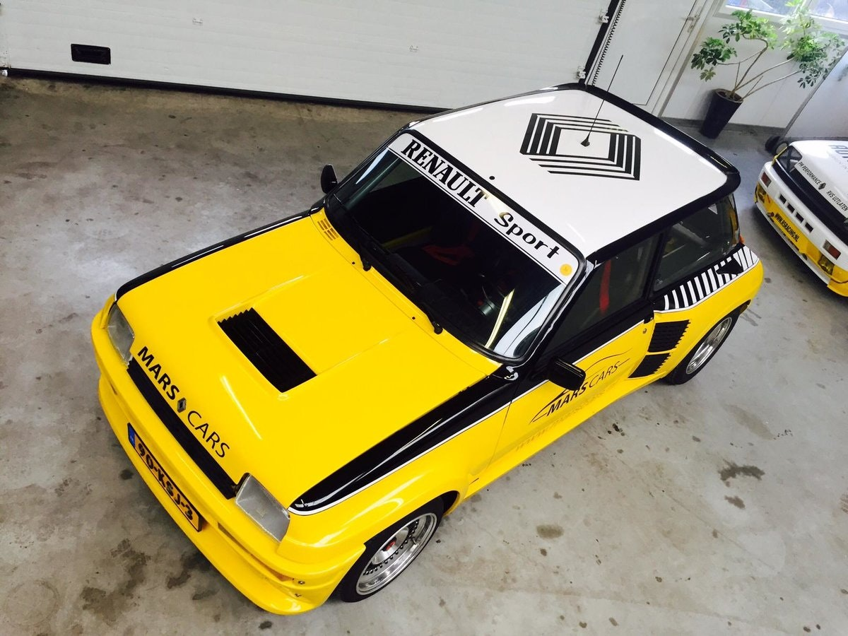 1983 Restored Renault 5 Turbo 2 For Sale (picture 6 of 6)