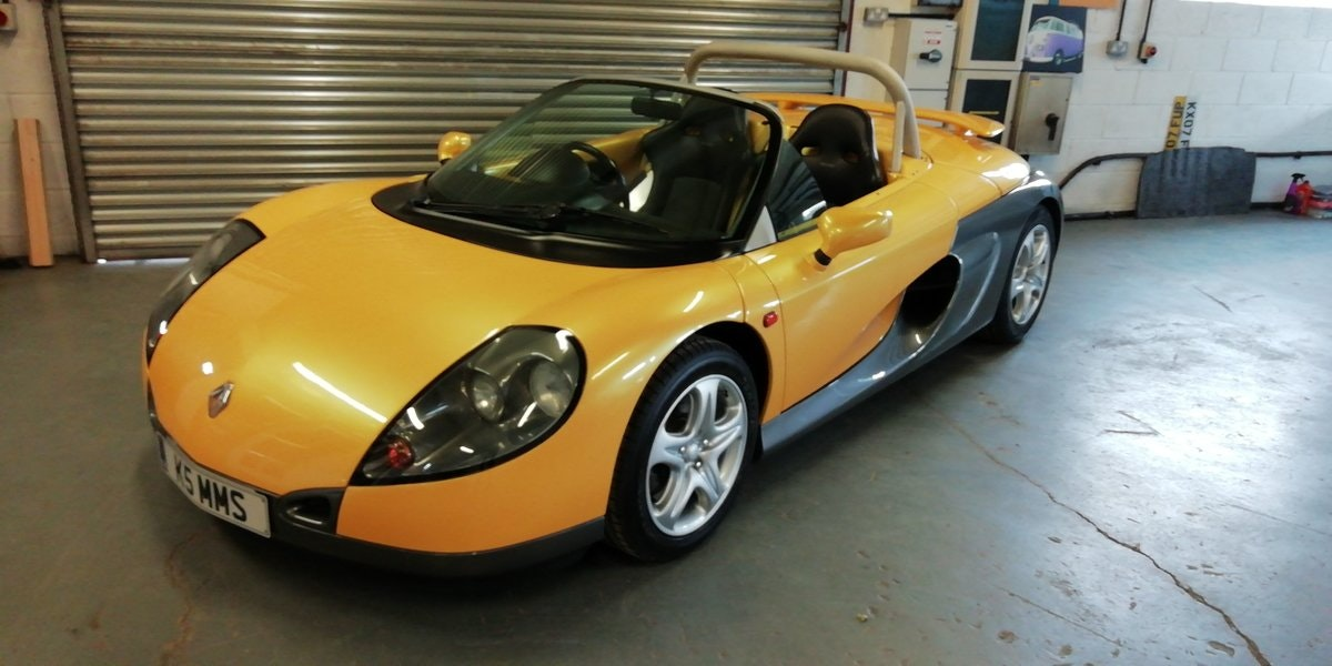 1997 Renault Sport Spider - Very Rare & only 7000 miles For Sale (picture 1 of 12)