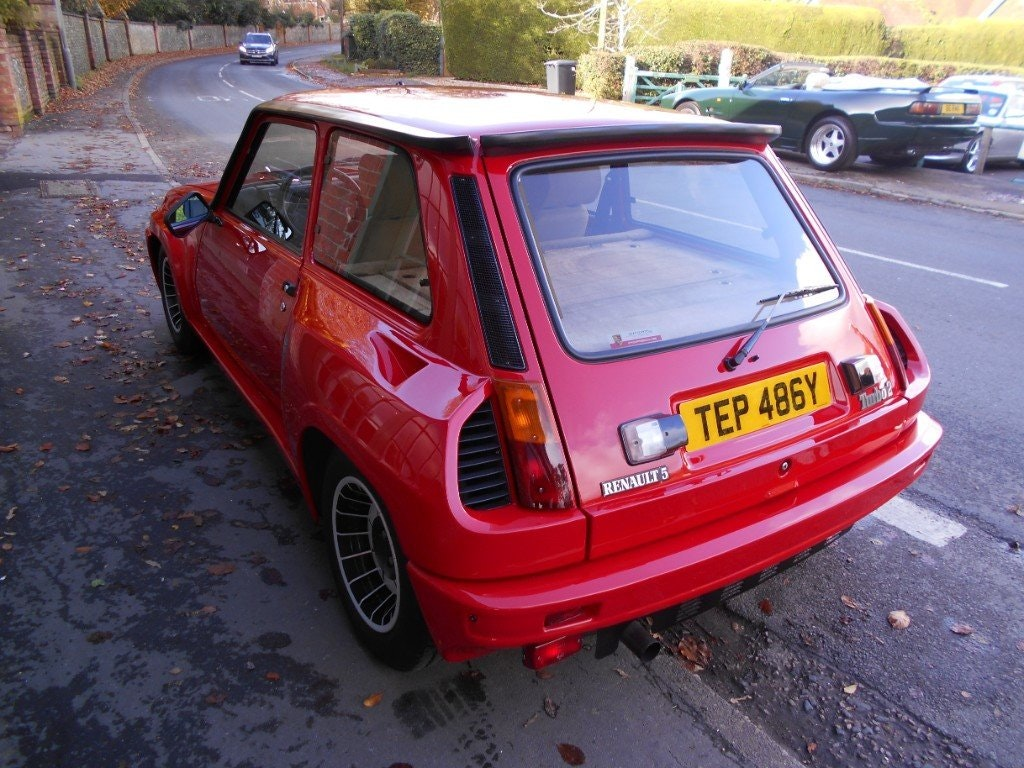 1983 Renault 5 Turbo 2 For Sale (picture 3 of 4)