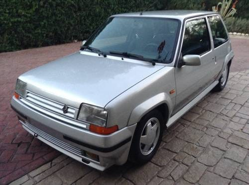1998 Renault 5 gt turbo  120 ps 1988 For Sale (picture 3 of 6)