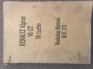 GTA manual and parts microfiche For Sale (picture 1 of 4)