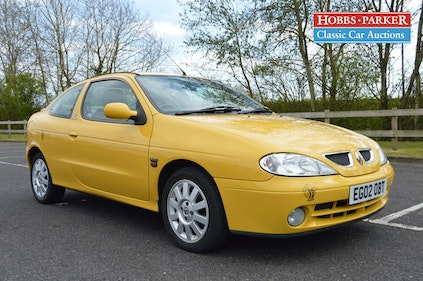 Picture of 2002 Renault Megane Coupe FIDJI 16V - 54k Miles - 28/29t For Sale by Auction