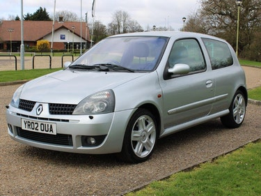 Picture of 2002 Renault Clio 2.0 Sport 172 at ACA 1st and 2nd May For Sale by Auction
