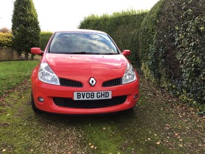 2008 Renault Clio 197 sport with low miles For Sale (picture 1 of 12)