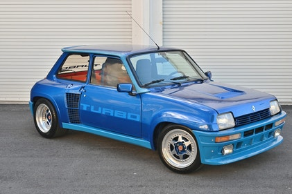 Picture of 1981 RENAULT 5 TURBO I - very Rare low 21k miles Blue $145k For Sale
