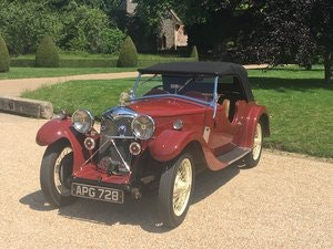 Picture of 1933 Riley Nine Lynx – (disappearing hood model) SOLD