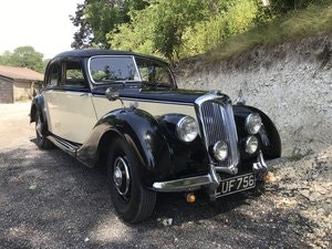 Picture of 1952 Riley RMA in current ownership almost 30 years SOLD