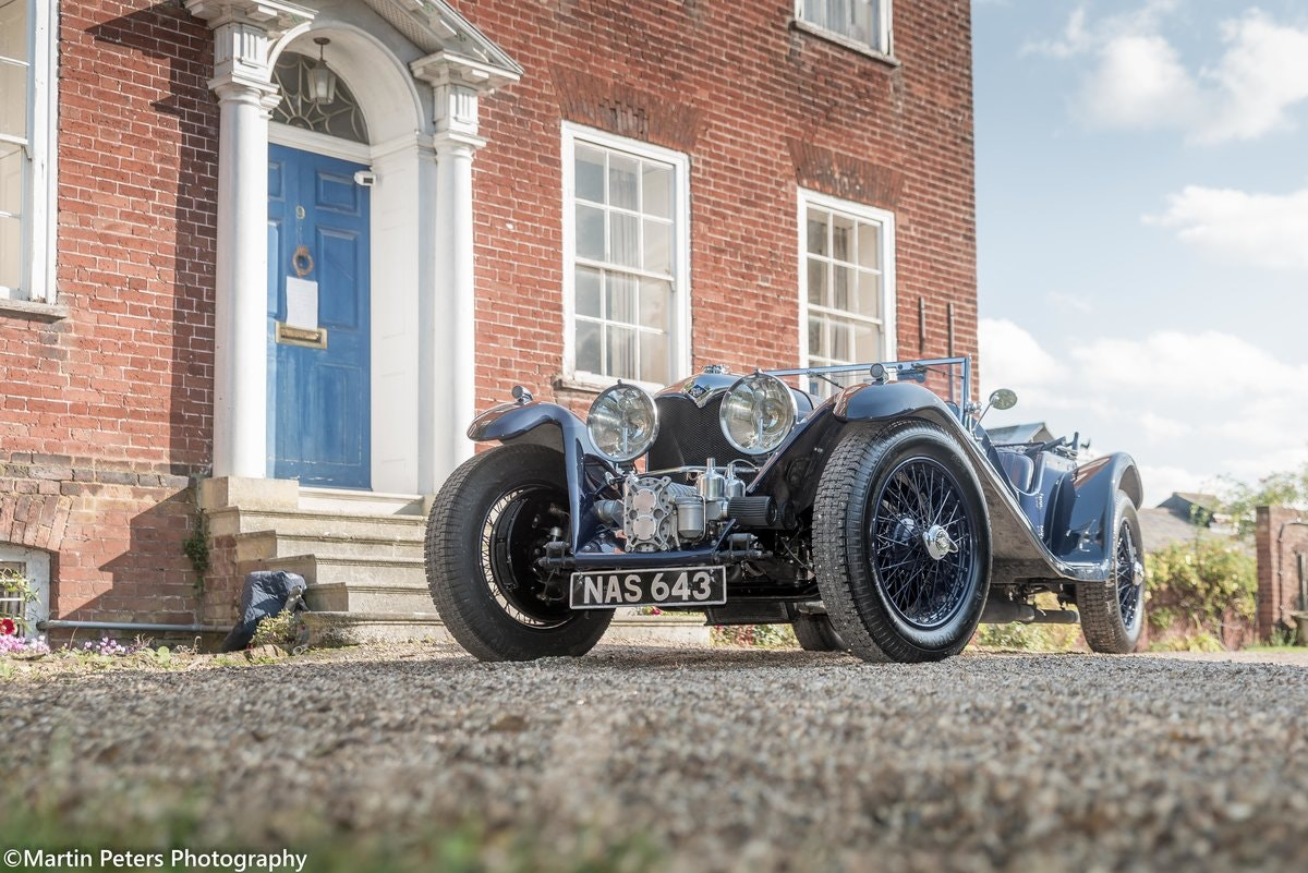 Riley 2.5 Supercharged Blue streak 1938 For Sale (picture 9 of 24)
