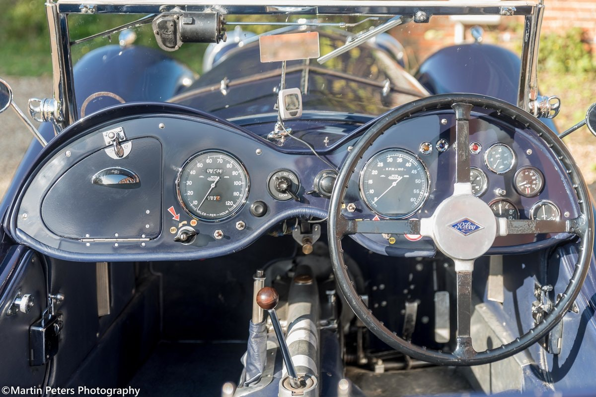 Riley 2.5 Supercharged Blue streak 1938 For Sale (picture 11 of 24)