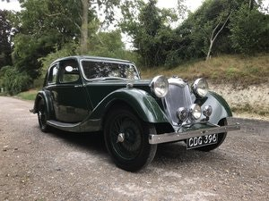 Picture of 1938 Riley Kestrel 12/4 Six-Light Saloon -Reserved SOLD