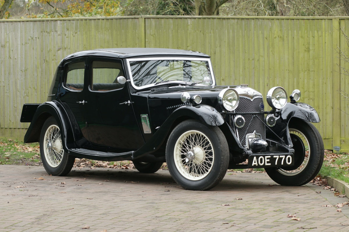 1934 Riley Kestrel 6 Cylinder, Special Series SOLD (picture 1 of 6)