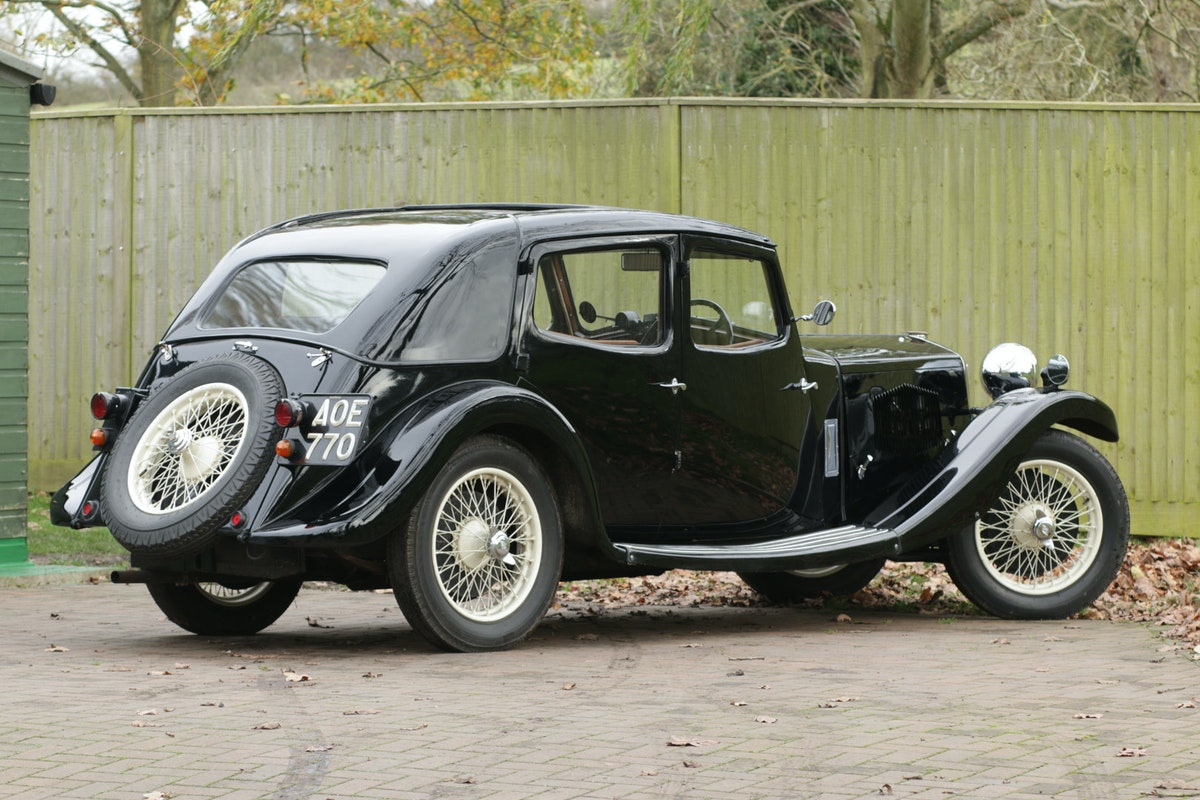 1934 Riley Kestrel 6 Cylinder, Special Series SOLD (picture 2 of 6)