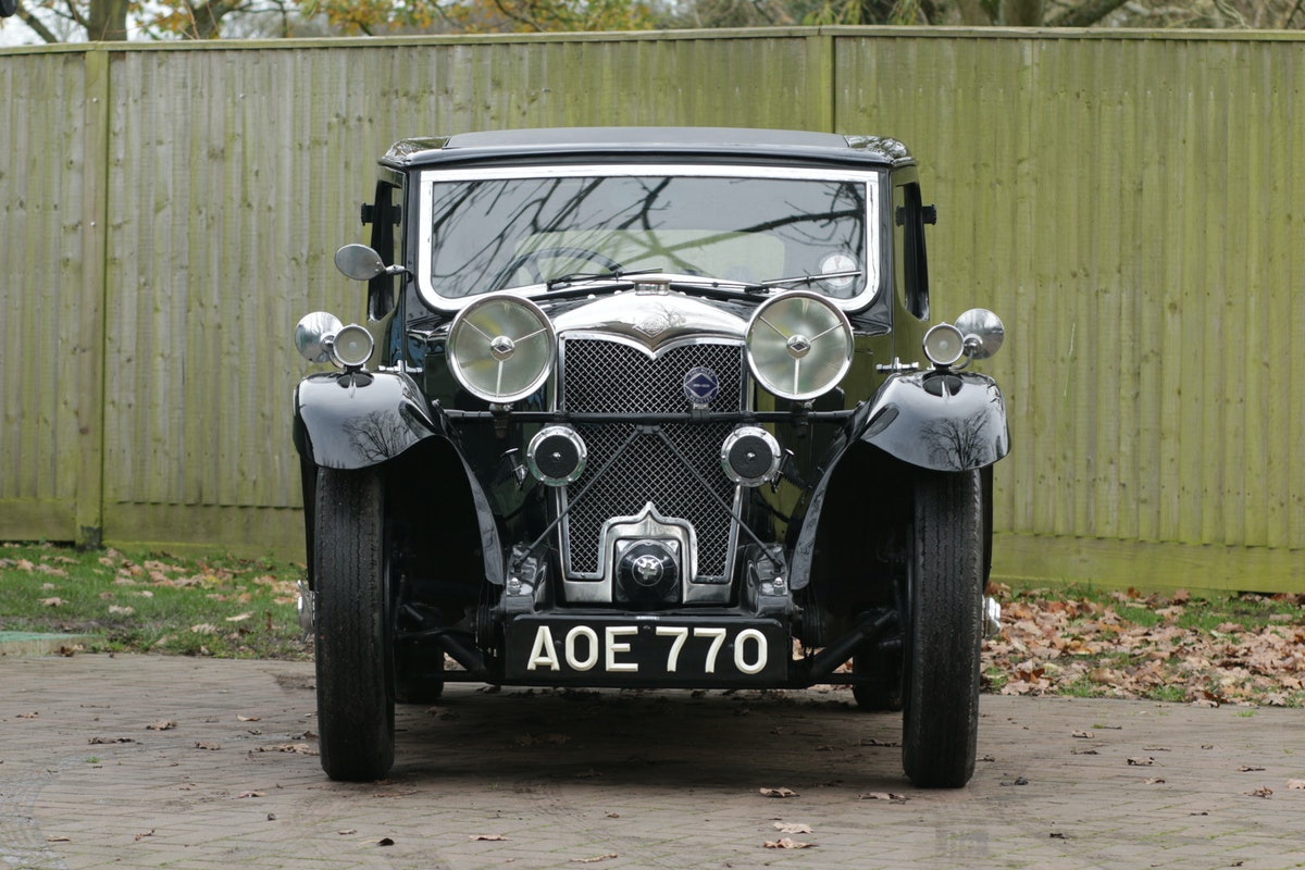 1934 Riley Kestrel 6 Cylinder, Special Series SOLD (picture 3 of 6)