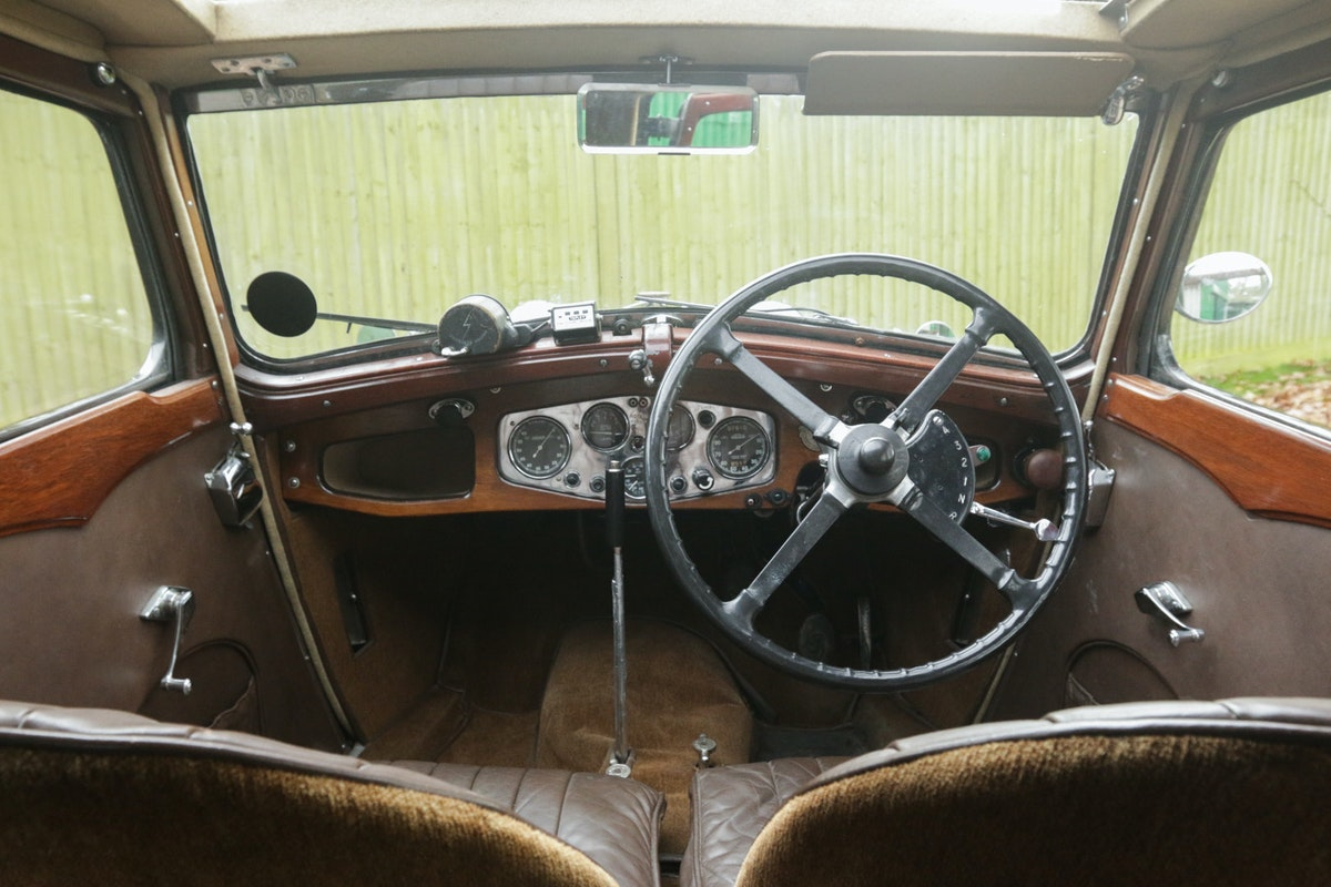 1934 Riley Kestrel 6 Cylinder, Special Series SOLD (picture 5 of 6)
