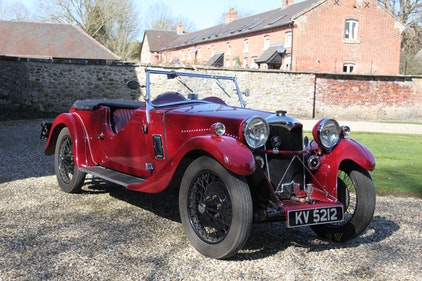 Picture of 1933 Riley Nine Lynx with Pre-war competition history For Sale