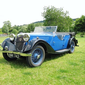 Picture of 1936 Riley 12/4 Lynx - current ownership 32 years For Sale