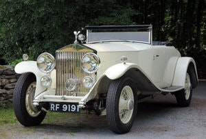 Picture of 1932 Rolls-Royce PII Cont. Tourer H.J.Mulliner  DHC 28MS For Sale