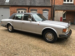 1981 Rolls Royce Silver Spirit Genuine 34k miles For Sale (picture 5 of 6)