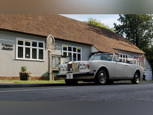 1980 1981 Rolls-Royce Corniche Convertible LHD FI For Sale (picture 1 of 6)
