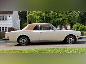 1980 1981 Rolls-Royce Corniche Convertible LHD FI For Sale (picture 3 of 6)