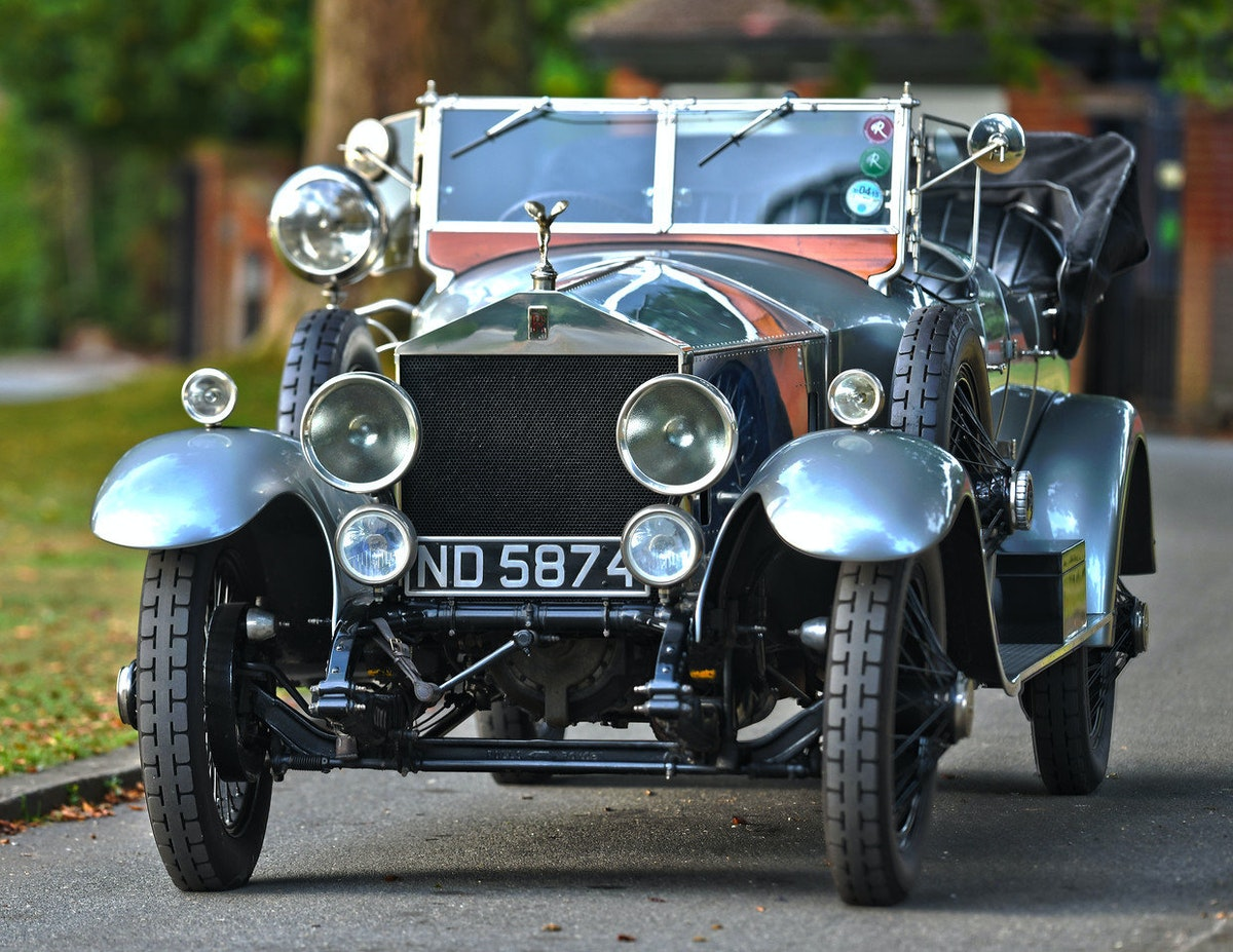 1924 Rolls-Royce Silver Ghost Barrel Sided Tourer  For Sale (picture 1 of 6)