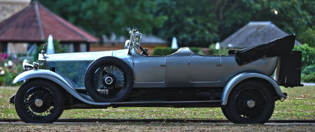 1924 Rolls-Royce Silver Ghost Barrel Sided Tourer  For Sale (picture 2 of 6)