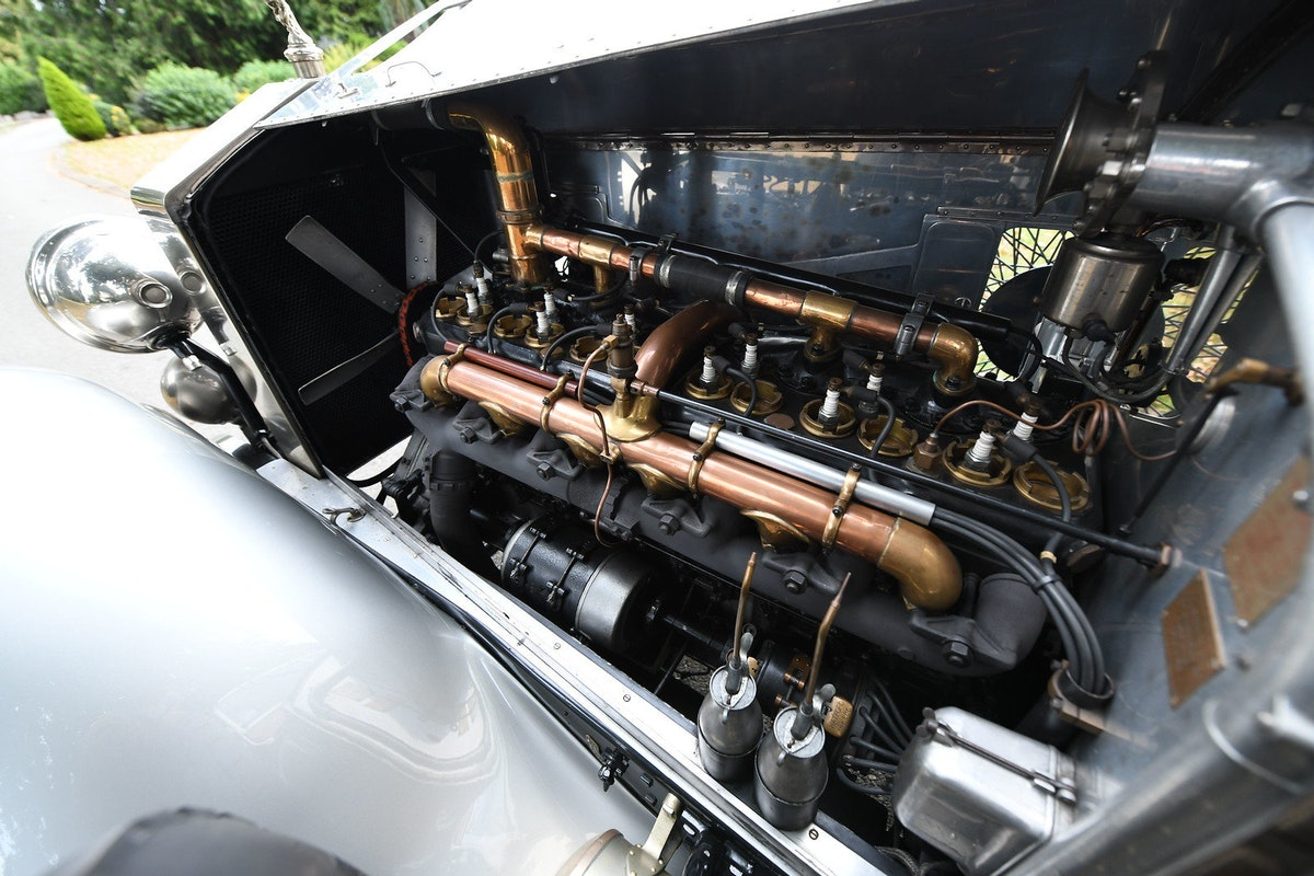 1924 Rolls-Royce Silver Ghost Barrel Sided Tourer  For Sale (picture 6 of 6)