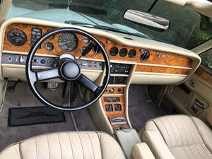 1988 ROLLS ROYCE CORNICHE CONVERTIBLE MKII      LHD For Sale (picture 4 of 6)