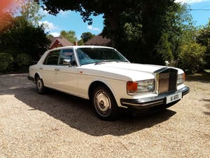 1988 Rolls-Royce Silver Spur in White For Sale (picture 1 of 12)
