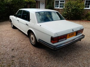 1988 Rolls-Royce Silver Spur in White For Sale (picture 3 of 12)