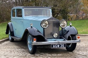 Picture of 1933 Rolls-Royce 20/25 Thrupp + Maberly Sports Saloon For Sale