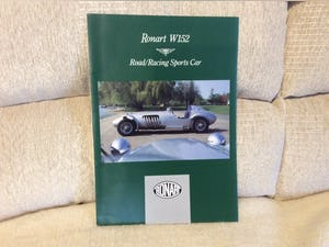 Ronart W 152 brochure For Sale (picture 1 of 2)