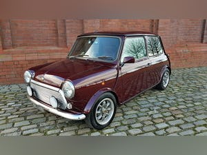 1999 ROVER MINI COOPER 40TH ANNIVERSARY EDITION IN MULBERRY * For Sale (picture 1 of 6)