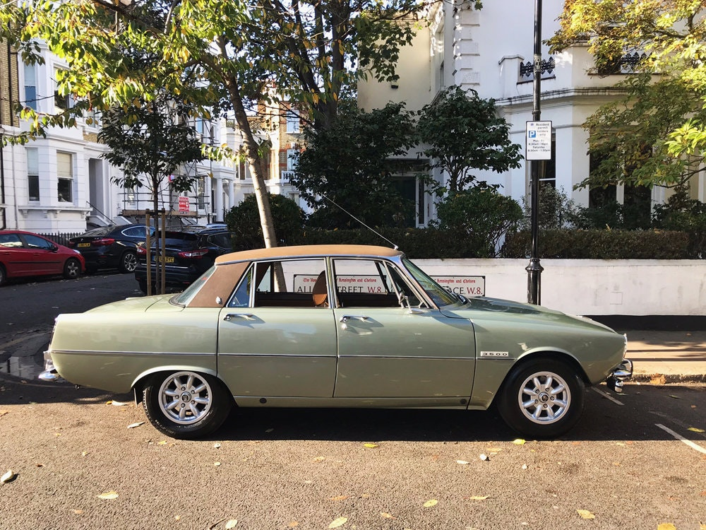 1975 Rover 3500 - only 14.500 miles since new For Sale (picture 22 of 23)