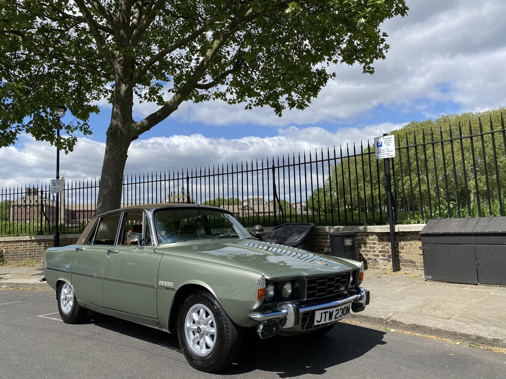 1975 Rover 3500 - only 14.500 miles since new For Sale (picture 1 of 23)