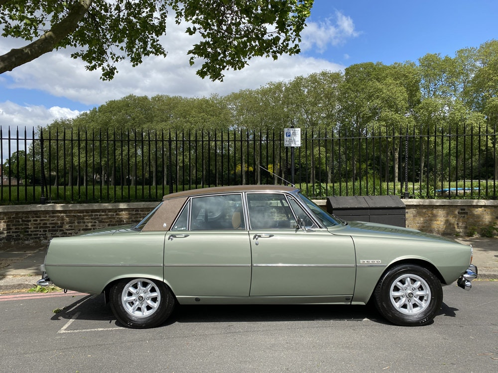 1975 Rover 3500 - only 14.500 miles since new For Sale (picture 3 of 23)