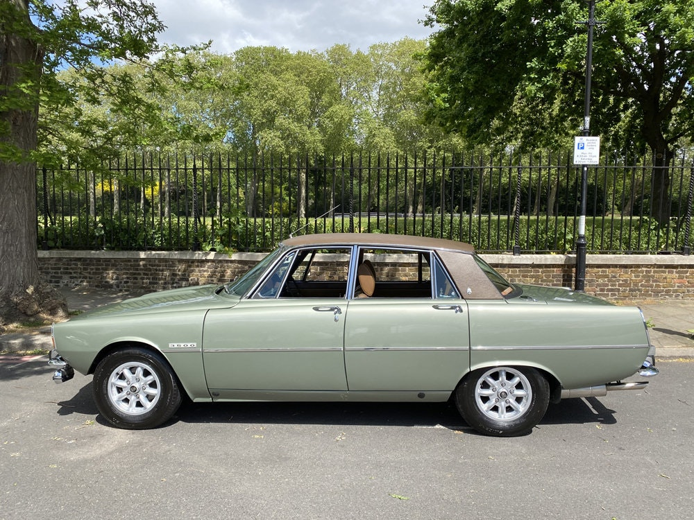 1975 Rover 3500 - only 14.500 miles since new For Sale (picture 5 of 23)