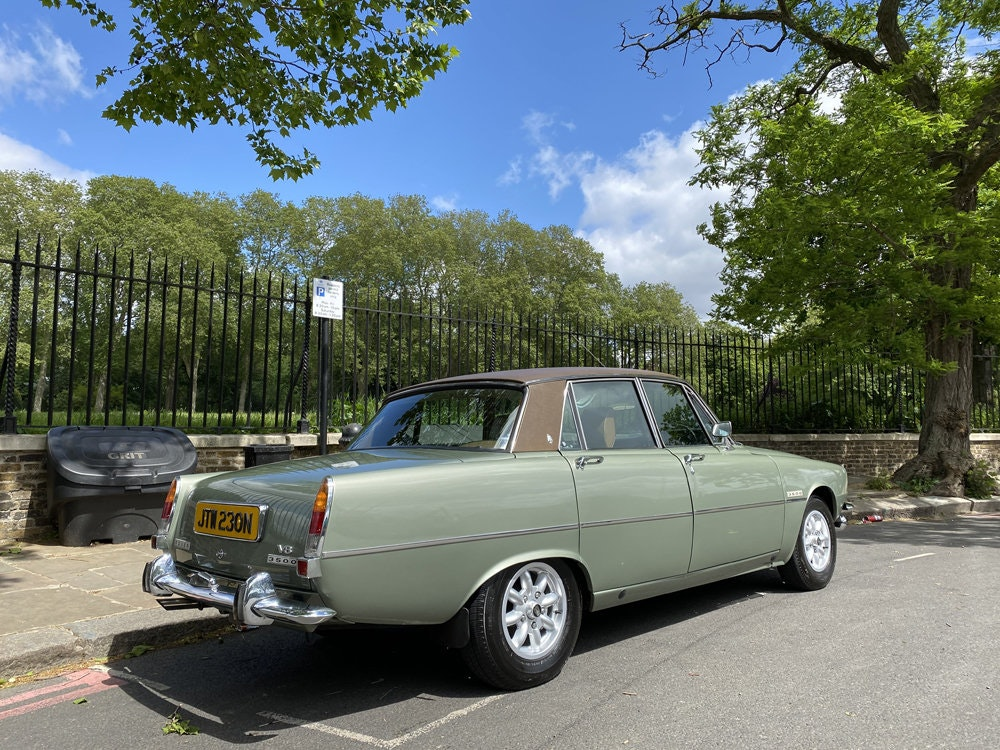 1975 Rover 3500 - only 14.500 miles since new For Sale (picture 7 of 23)