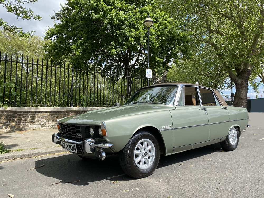 1975 Rover 3500 - only 14.500 miles since new For Sale (picture 21 of 23)