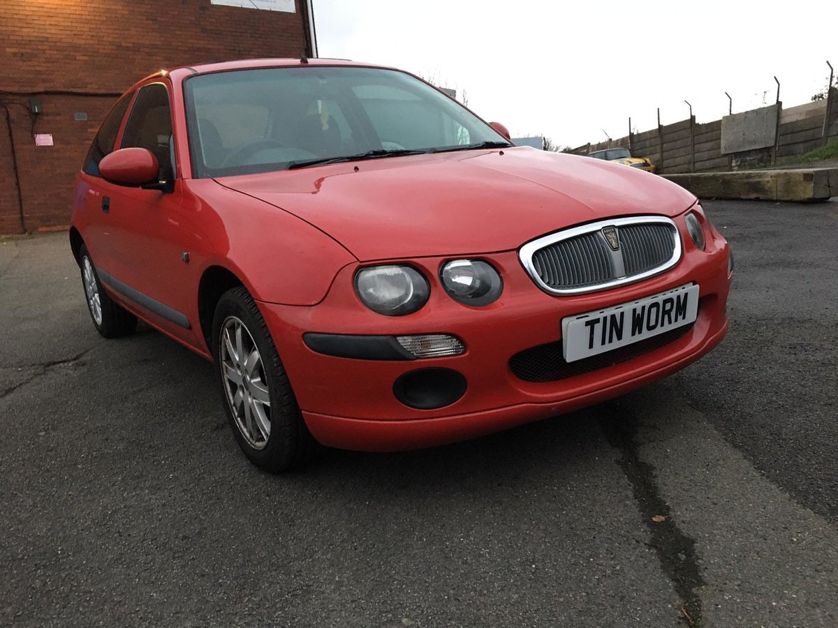 2004 Rover 25 Impression 3 with Manual Gearbox, 1.4 Petrol Engine For Sale (picture 1 of 6)
